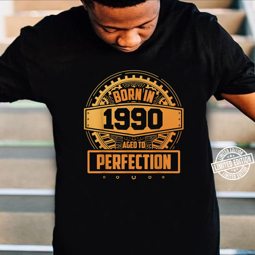 30. Geburtstag Vintage Aged To Perfection Juni 1990 Shirt