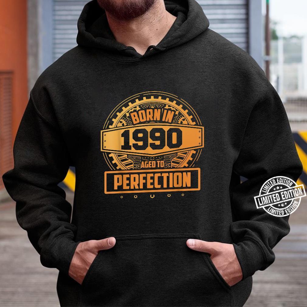 30. Geburtstag Vintage Aged To Perfection Juni 1990 Shirt hoodie