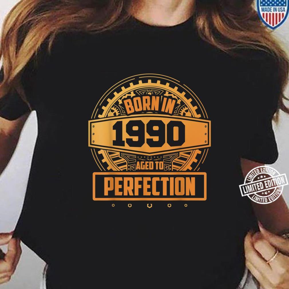 30. Geburtstag Vintage Aged To Perfection Juni 1990 Shirt ladies tee