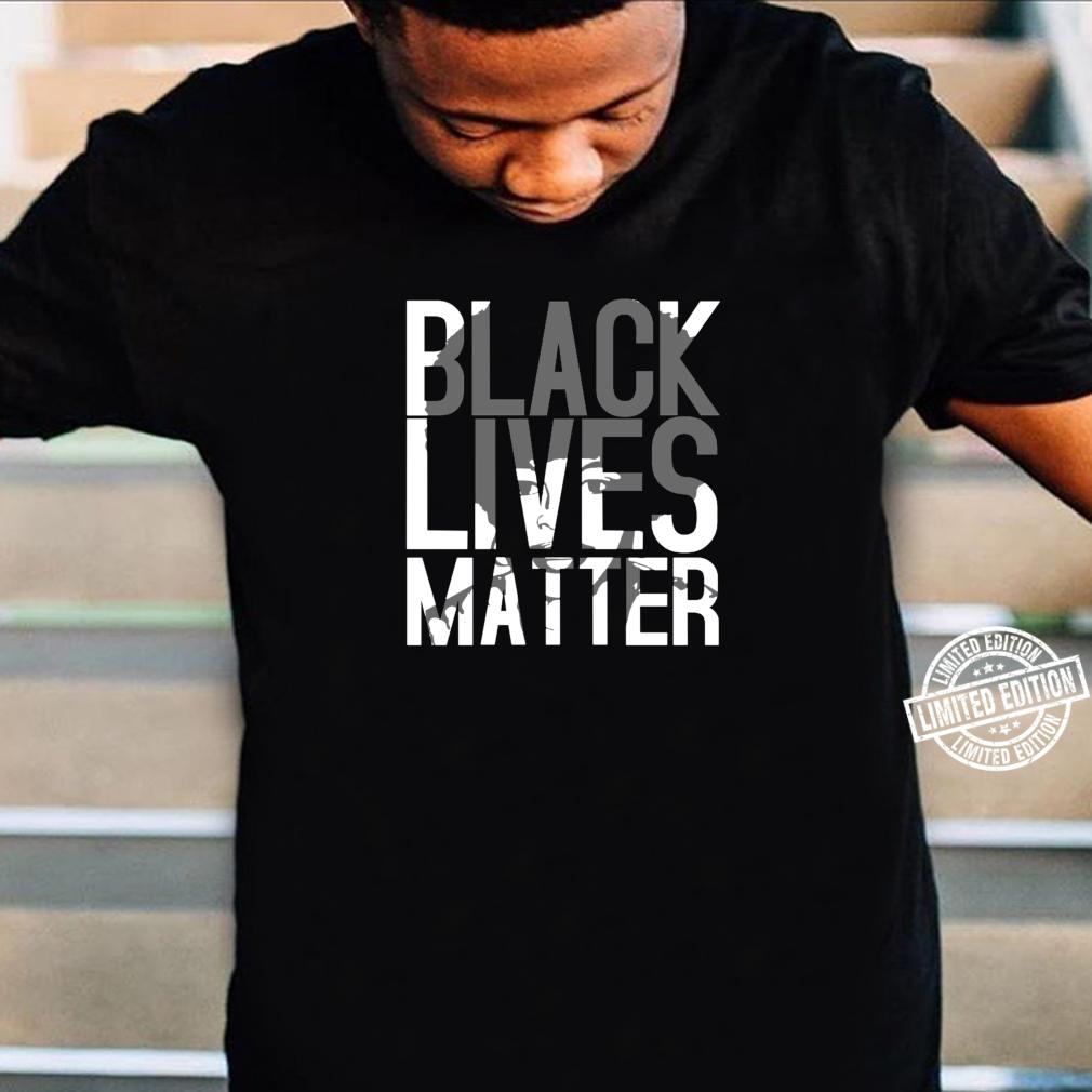 Black Lives Matter Schwarzer Stolz Friedlicher Protest Shirt