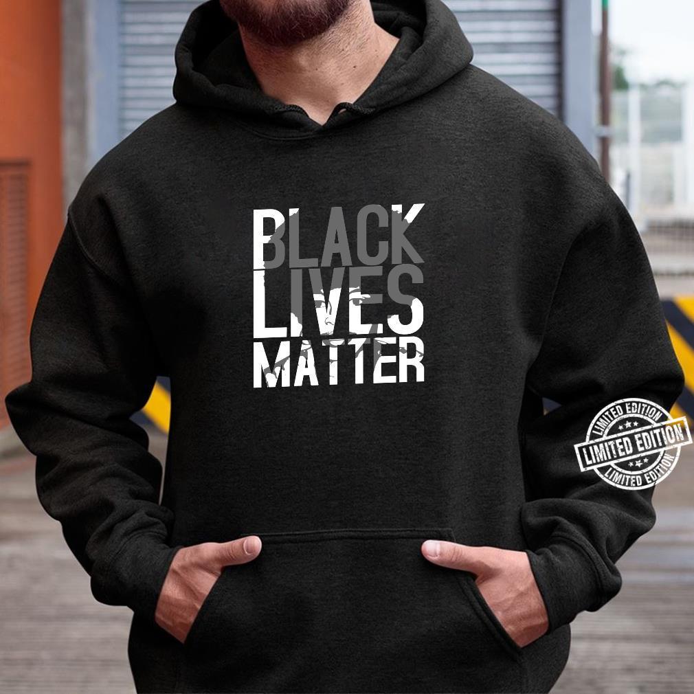 Black Lives Matter Schwarzer Stolz Friedlicher Protest Shirt hoodie