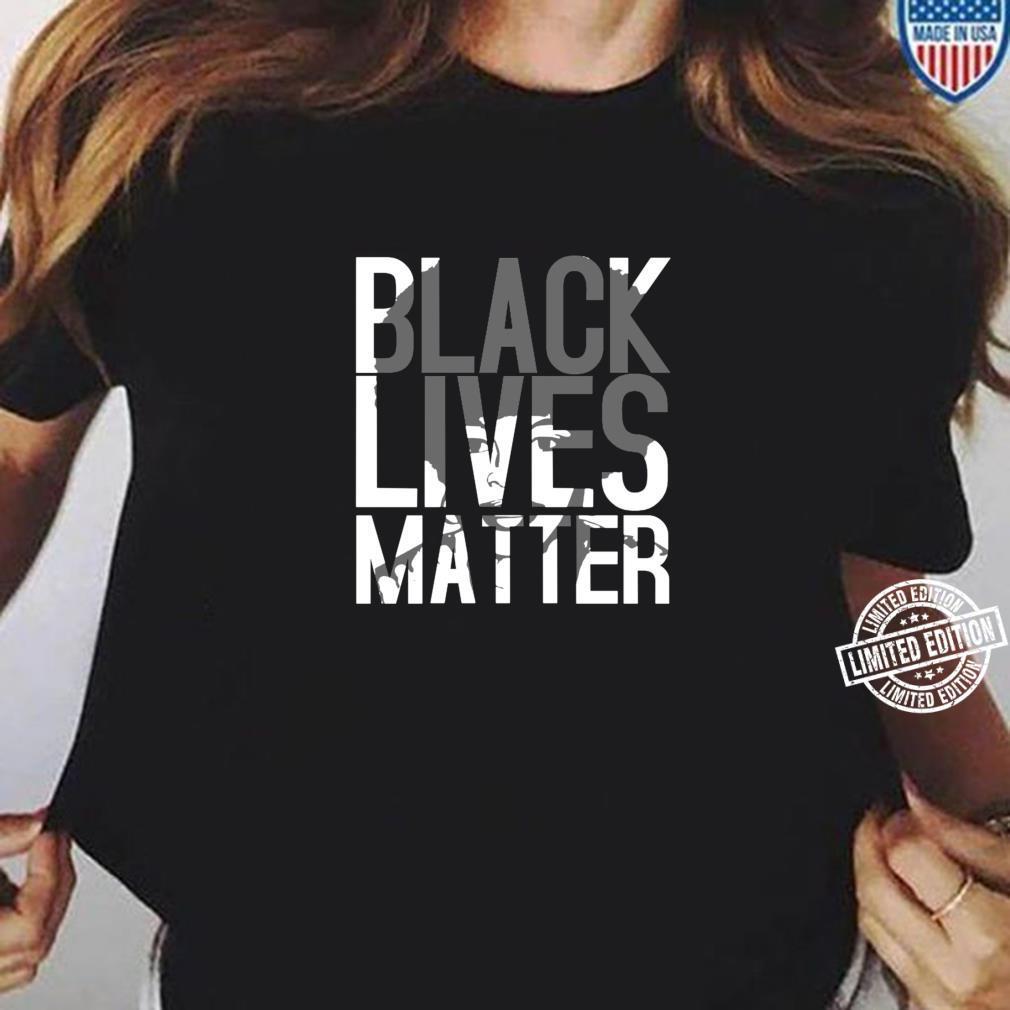 Black Lives Matter Schwarzer Stolz Friedlicher Protest Shirt ladies tee