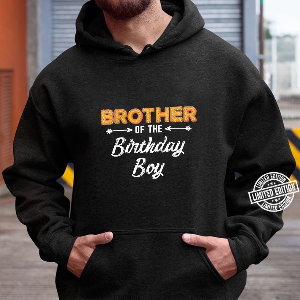 Bruder des Geburtstagsjungen Donut Familiengeburtstag Shirt hoodie