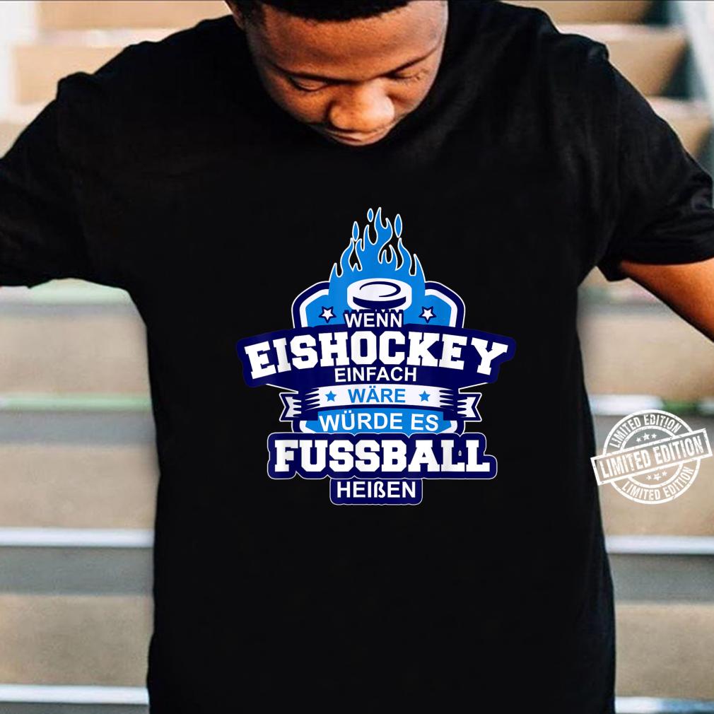 Eishockey Ice Hockey Sport auf Eis Schlitschuh Puk Shirt