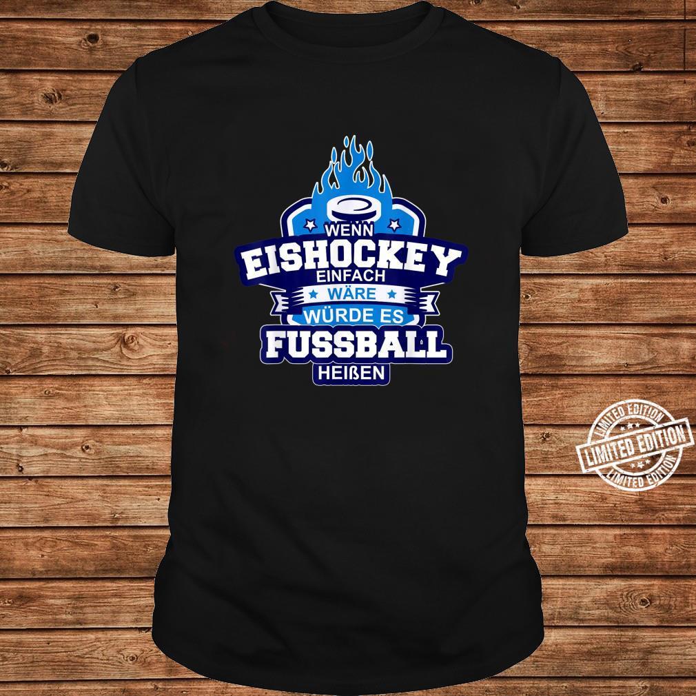 Eishockey Ice Hockey Sport auf Eis Schlitschuh Puk Shirt long sleeved